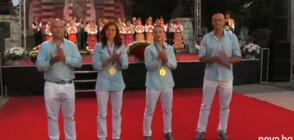 Плевен посрещна тържествено олимпийските шампионки Стойка Кръстева и Ивет Горанова