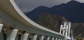 В Китай изградиха първия надморски мост за високоскоростни влакове (ВИДЕО+СНИМКИ)