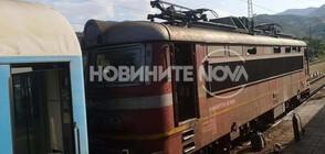 Локомотив пламна на гарата в Зверино (ВИДЕО)