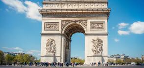 В ПАМЕТ НА КРИСТО: Започна опаковането на Триумфалната арка