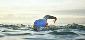 МАРАТОН ПО ВОДА: Плувци мерят сили в международно състезание край Бургас