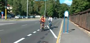 АБСУРДНА ВЕЛОАЛЕЯ: Защо се налага колоездачи да се движат в насрещното