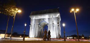 МЕЧТАТА НА КРИСТО: Триумфалната арка е опакована (ВИДЕО+СНИМКИ)