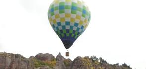Десетки балони полетяха е небето над Белоградчишките скали (ВИДЕО)