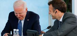 Среща между Макрон и Байдън в края на октомври в Европа