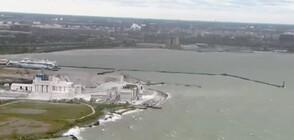 В Чикаго предупредиха за опасност от големи вълни в езерото Мичиган