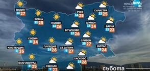 Прогноза за времето (25.09.2021 - сутрешна)