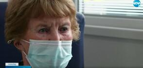 Първата ваксинирана срещу COVID-19 жена получи трета доза (ВИДЕО)