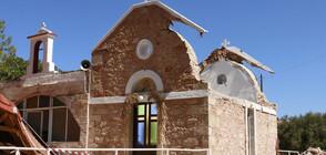 Поредно силно земетресение разтърси остров Крит (ВИДЕО+СНИМКИ)