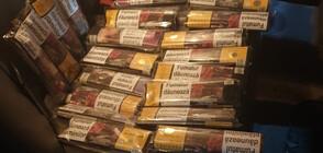 Арести заради тютюн без бандерол в София (ВИДЕО+СНИМКИ)