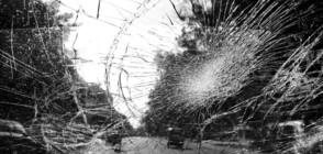 """Катастрофа на магистрала """"Тракия"""" (СНИМКИ)"""