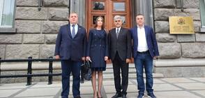 ВМРО се регистрира за участие в президентския вот (ВИДЕО+СНИМКИ)