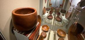 Изложба на прочут дървостругар в Троян