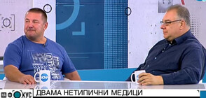 Мисионери за ваксиниране: Д-р Мирослав Ненков и д-р Атанас Пелтеков