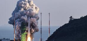 Южна Корея изстреля първата си космическа ракета (ВИДЕО+СНИМКИ)