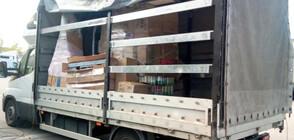 """Откриха 79 пакета с хероин, скрит в кашони в камион на """"Дунав мост"""" 2"""