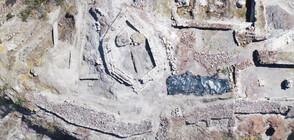 Археолози откриха рисунки на 7 века в крепостта край Русокастро