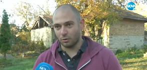 Млад мъж предлага безплатно цепене на дърва на хора в нужда (ВИДЕО)