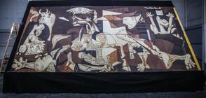 Изработиха огромна картина на Пикасо от шоколад (СНИМКИ)