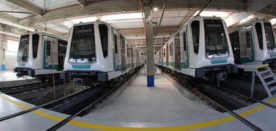 Започват тестовете на новите влакове на метрото