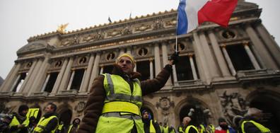Арести и сълзотворен газ на протеста в Париж (ВИДЕО+СНИМКИ)