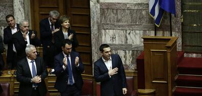 Един глас спаси Ципрас (ВИДЕО)