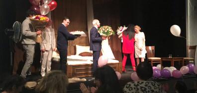 Лилия Маравиля отпразнува рождения си ден на сцената (ВИДЕО+СНИМКИ)