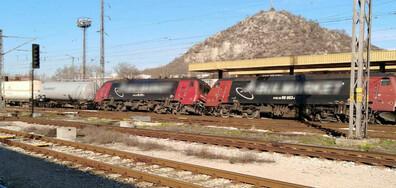 Локомотивът на дерайлиралия влак в Пловдив – същият от инцидента в Хитрино (СНИМКИ)