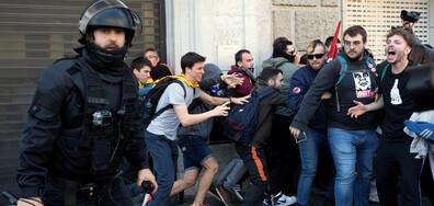 28 души пострадаха при безредици в Каталуния (ВИДЕО+СНИМКИ)