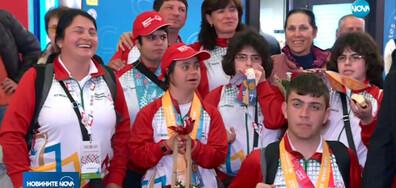 """Завърнаха се медалистите ни от световните игри на """"Спешъл Олимпикс"""""""