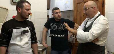 """Главен готвач се опитва да избяга от шеф Манчев в новия епизод на """"Кошмари в кухнята"""""""