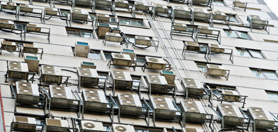 Нова наредба за климатиците по фасадите на сградите в София