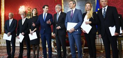 Преходното правителство на Австрия се закле
