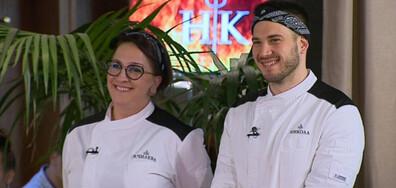 """""""Отличникът"""" Никола срещу """"бунтарката"""" Чилева на финал в Hell's Kitchen 2019"""