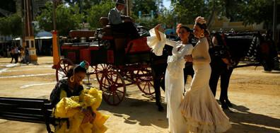 НАЗАД ВЪВ ВРЕМЕТО: Празникът на конете в Херес де ла Фронтера (ГАЛЕРИЯ)