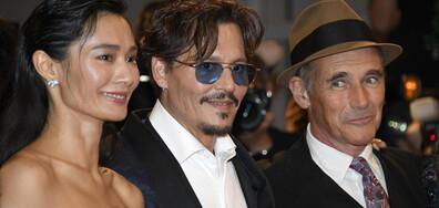 Джони Деп представи новия си филм на фестивала във Венеция (СНИМКИ)