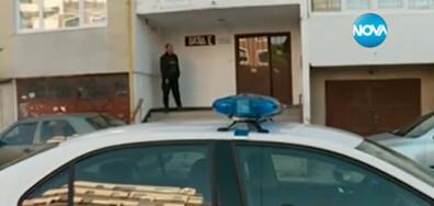 Мъж стреля в блок в София, барикадира се в дома си (ВИДЕО)