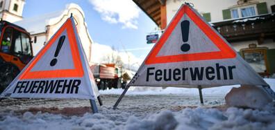 Свлачища, лавини и спирания на тока в Австрия заради обилните валежи (СНИМКИ)