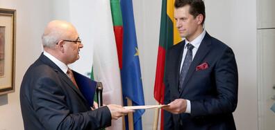 Почетно консулство на България беше открито във Вилнюс