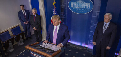 Тръмп: В следващите дни се очакват голям брой смъртни случаи
