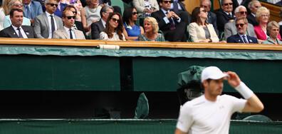 Кейт Мидълтън и Анди Мъри с невероятна изненада за млади тенисисти (ВИДЕО)