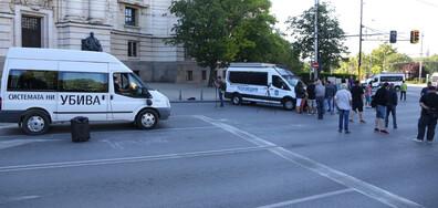 Остава блокадата на кръстовището пред СУ