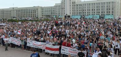 Недоволството в Беларус не стихва (ВИДЕО)