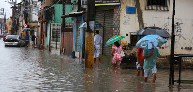 Мощен тайфун удари Филипините, има жертви