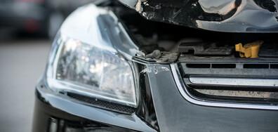 Кола на НСО катастрофира в центъра на София