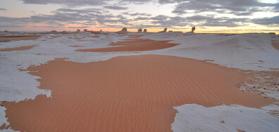 РЯДКО СРЕЩАНО ЯВЛЕНИЕ: Сняг и лед в Сахара (ВИДЕО+СНИМКИ)