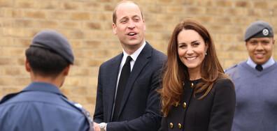 Кейт и Уилям с първа поява след смъртта на принц Филип (СНИМКИ)