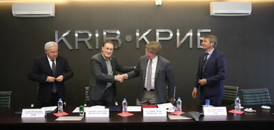 КРИБ и Американският университет подписаха споразумение за сътрудничество