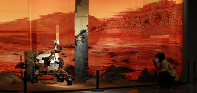 Китайски космически апарат кацна на Марс