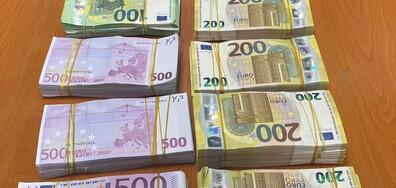 Мъж се опита да премине границата с 650 000 евро, скрити в потника му